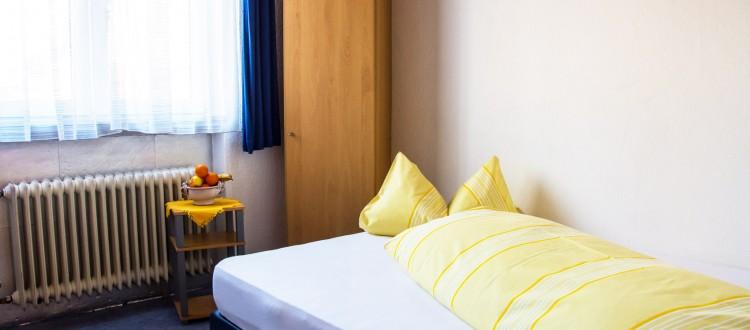 Einzelzimmer PK2 Hotel im Klosterring